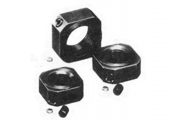 Sicherungsmutter - WBK10L-01