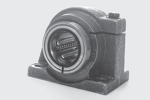 Kugelbuchseneinheit - Lagereinheit - geschlitzt - LE66-216