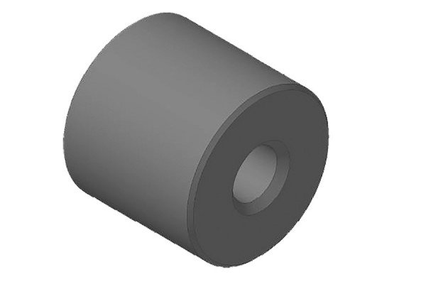 Trapezgewindetriebe - Stahl Rundmutter - lang - QRM36x6R1