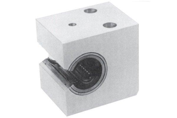 Kugelbuchseneinheit - Alulagereinheit - seitlich offen, einstellbar - LE72-250